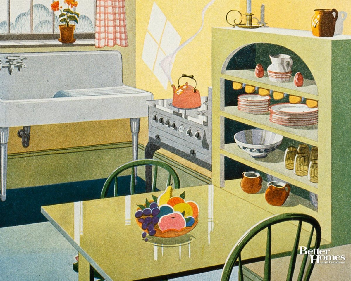A Vintage Kitchen