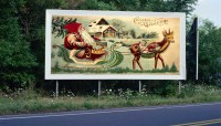 Made-Up Billboard i-75 Cheboygan
