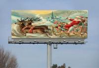 Not Real Billboard in Soo Township